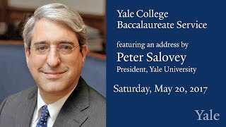 Download Yale College 2017 Baccalaureate Ceremony Video