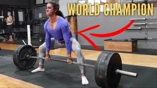 Download Learn To Deadlift From A 11x World Champion (Ft. Stefi Cohen) Video