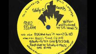 Download Schoolly D- PSK, What Does It Mean? Video