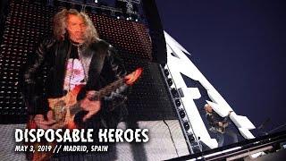 Download Metallica: Disposable Heroes (Madrid, Spain - May 3, 2019) Video