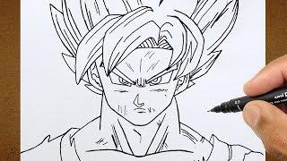 Download COMO DESENHAR GOKU SUPER SAYAJIN BLUE, Dragon Ball Super How To Draw Video