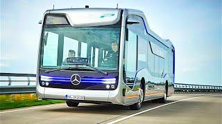 Download Mercedes Self Driving Bus Official Commercial Mercedes Future Bus 2016 Autonomous Bus CARJAM TV Video