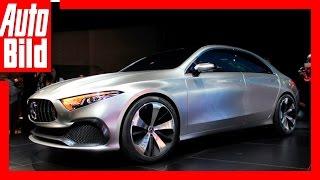 Download Mercedes Concept A Sedan (2017) Review/Details Video