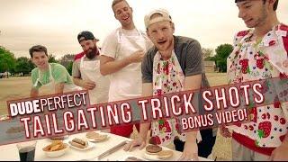 Download Dude Perfect: Tailgating Trick Shots BONUS Video Video