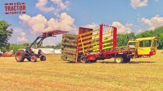 Download Harvesting Hay Bales Video
