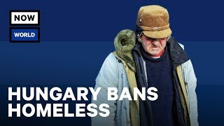 Download Hungary's Homeless Ban | NowThis World Video