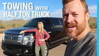 Download TOWING WITH A HALF TON TRUCK (FORD F-150) Video