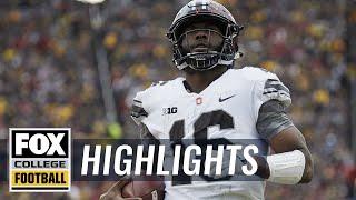 Download Ohio State vs Michigan | Highlights | FOX COLLEGE FOOTBALL Video