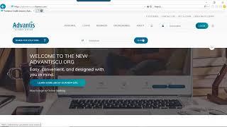 Download New Website | Advantis Credit Union Video