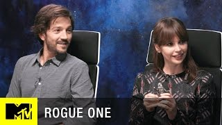Download Star Wars: Rogue One Interview w/ Felicity Jones, Diego Luna, & Josh Horowitz | MTV Live Video