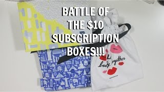 Download BATTLEOF THE $10 SUBSCRIPTION BOXES!! PLAY! BY SEPHORA, IPSY, AND BIRCHBOX UNBOXINGS. (MAY 2016) Video