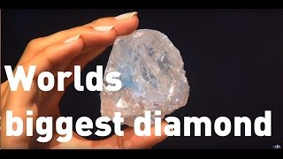 Download The world's largest diamond goes on sale Video