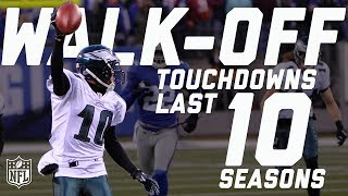 Download Every Walk-Off Touchdown from the Last 10 Seasons | NFL Highlights Video