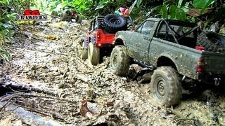 Download Mudding! 18 RC Trucks scale adventures Axial SCX10 Wraith Defender 90 RC4wd Trail finder 2 Video
