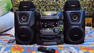 Download Музыкальный центр Panasonic SC-AK25 Video