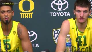 Download Tyler Dorsey and Roman Sorkin Post W. Oregon Game Video