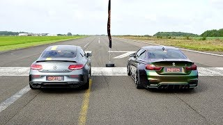 Download DRAG RACE! MERCEDES-AMG C63S VS BMW M4! Video