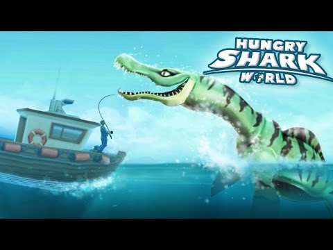 New Shark Drago The Pliosaur!!! - Hungry Shark World | Ep 44 HD