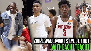 Download Russell Westbrook & Dwyane Wade watch Zaire Wade Make Nike EYBL Debut with E1T1 Video