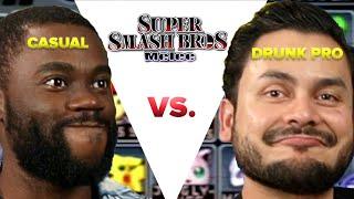 Download Casual VS Drunk Pro - Super Smash Bros Melee Video