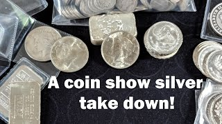 Download A silver stack takedown at the coin show. Generic silver, poured silver, junk silver, oh my! Video