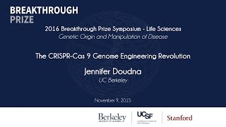 Download Jennifer Doudna. The CRISPR-Cas 9 Genome Engineering Revolution Video