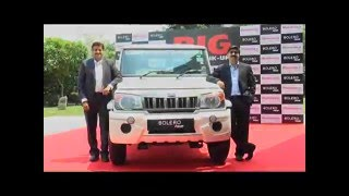 Download Mahindra Launches the All New Big Bolero Pik-up, its Supreme Workhorse Video