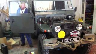 Download Land Rover Series 2A lightweight, starts first time after c Video