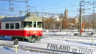 Download Helsinki A Train Ride after Snowstorm 11.2016 (Finland by Train) Video
