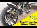 Download PULSAR 200 NS MODIFICACIÓN RINES VINIL Video