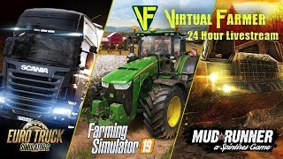 Farming Simulator 17 First look New Map Tour American