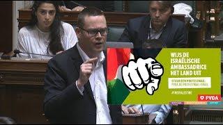 """Download """"Het is tijd dat we de ambassadeur van Israël uit het land zetten"""" Video"""