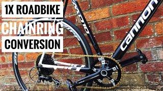 Download 1X Single Chainring Road Bike Conversion Video