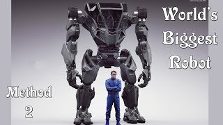 Download Meet Method-2, The Biggest Robot In The World || The Korean megabot straight out of sci-fi.. Video
