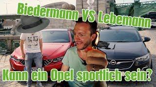 Download Opel Insignia GSi schlägt Konzernbruder Peugeot 508 GT Video