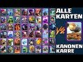 Download ALLE KARTEN vs. KANONEN KARRE! 1 vs 1 BATTLE! Let's Play Clash Royale Deutsch German CR Kevgo around Video