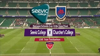 Download NatWest Schools U18 Vase 2015 FINAL: Seevic College vs Churcher's College Highlights Video