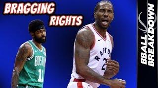 Download Kawhi Leonard Puts Raptors Over Celtics Video