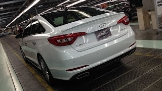 Download 2015 Hyundai Sonata - First Drive with Alabama Factory Tour & In Depth Apple Car Play Demo Video