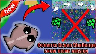 Download HARDEST MOPE.IO CHALLENGE EVER?!?! OCEAN TO OCEAN THROUGH SNOW BIOME! (Mope.io) Video