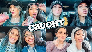 Download Going through Starbucks Drive thru Dressed as Different People *Plot Twist End* Video