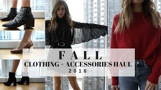 Download Fall 2016 Clothing Haul & Try On + ZARA + H&M + ALDO + Forever 21 Video