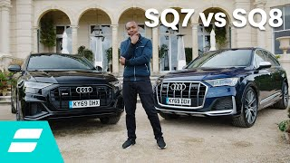 Download Audi SQ7 vs SQ8: Which sporty SUV is best? Video