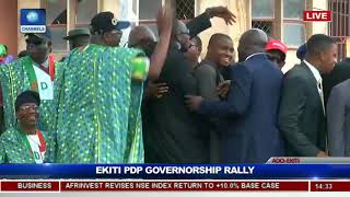 Download PDP Holds Ekiti Governorship Rally, Presents Flag To Eleka Pt.9 Video