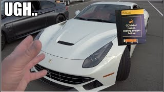 Download The First Track Day In My Ferrari Did NOT Go As Planned! **CCB Brake Failure??** Video