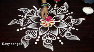 Download creative friday kolam designs with out dots || simple muggulu designs || easy rangoli designs Video
