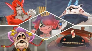 Download Yo-kai Watch 2 Psychic Specters: Psychic Blasters - All Bosses! [Solo] Video