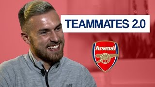 Download Who is the biggest diva at Arsenal? | Aaron Ramsey Teammates 2.0 Video