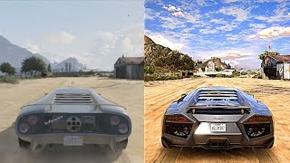 Download ►GTA 5 Xbox 360 vs Ultra Realistic 4K 60FPS PC Graphics | 2018 REDUX Gameplay! Video