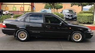 Download 4AGE ″Blacktop″ Swapped 1995 Toyota Corolla - One Take Video
